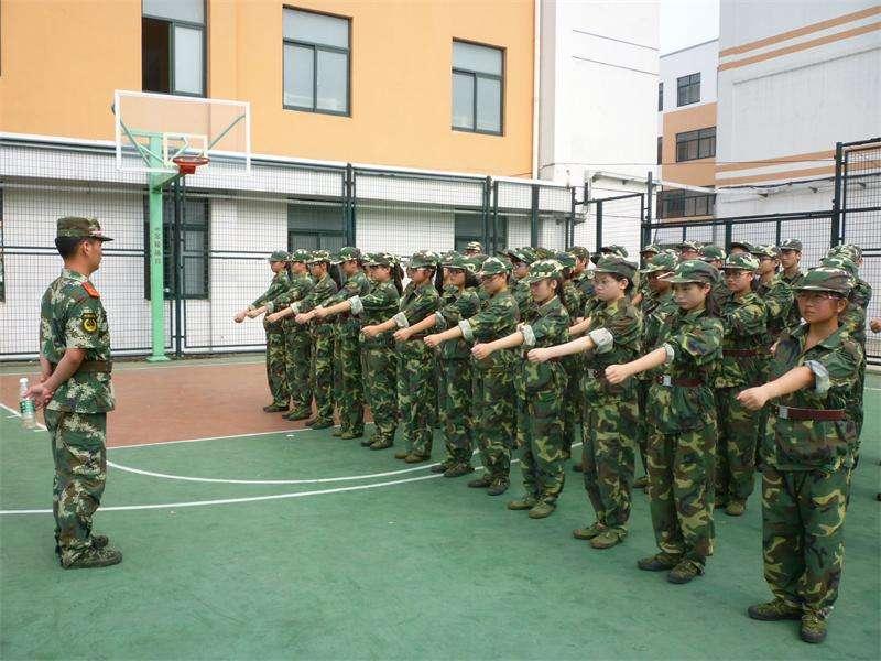 军体训练_学生拓展训练之组织纪律